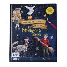 Adventskalender-Zeichenbuch: Für Potterheads & Friends