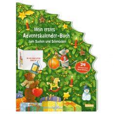 Mein erstes Adventskalender-Buch zum Suchen und Schmücken