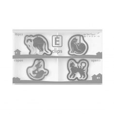 Büroklammern E-CLIPS - Cats, 16 Stück