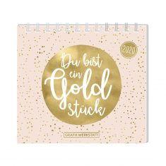Mini-Kalender 2020 - Du bist ein Goldstück
