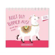 Mini-Kalender 2020 - Rollt den Teppich aus!