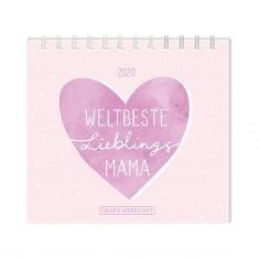 Mini-Kalender 2020 - Weltbeste Lieblingsmama