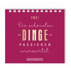 Mini-Kalender 2021 - Die schönsten Dinge...