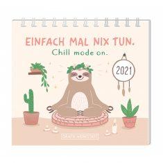Mini-Kalender 2021 - Einfach mal nix tun