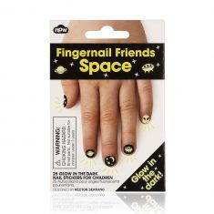 Fingernagel-Tattoos - Space