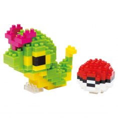 Nanoblock Mini Collection - Pokémon Raupy & Poké Ball