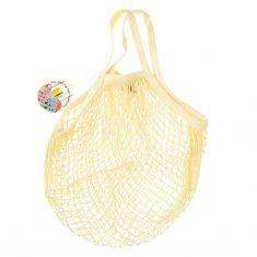Netzeinkaufstasche aus Biobaumwolle - Cream