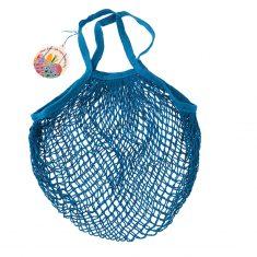 Netzeinkaufstasche aus Biobaumwolle - Greek Blue