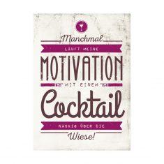 Notizheftchen - Manchmal läuft meine Motivation ...