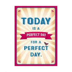 Notizheftchen - Today is a perfect day...