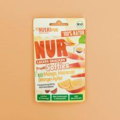 NUR FruchtSofties - Mango, Maracuja, Orange & Apfel, bio