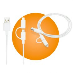 Lightning-Kabel - 2 in 1