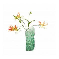 Papiervase - Paper Vase Cover, Green Gradient