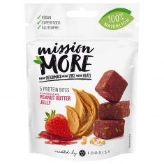 mission MORE - Peanut Butter Jelly Protein Bites