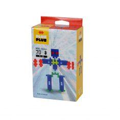Plus-Plus Mini Neon: Roboter - 70 Bausteine