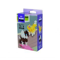 Plus-Plus Mini Pastel: Hunde und Katzen - 70 Bausteine