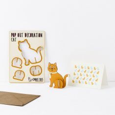 Pop Out Decoration - Katze