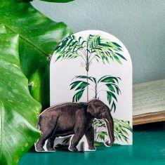 Pop out card - Tropical Elephant, studio ROOF