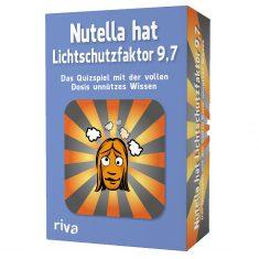 Quiz - Nutella hat Lichtschutzfaktor 9,7