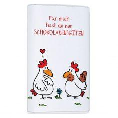 Schoko-Täfelchen - Für mich hast du nur Schokoladenseiten