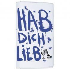 Schoko-Täfelchen - Hab Dich Lieb