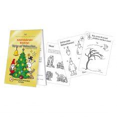 Adventskalenderblöckchen - Warten auf Weihnachten