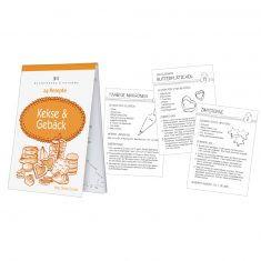 Rezeptblöckchen - 24 Rezepte - Kekse und Gebäck