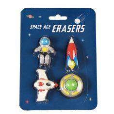 Radiergummis - Space Age, 4er Set