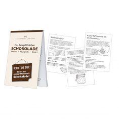 Rezeptblöckchen - Schokolade