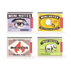 Notizzettel - Mini Notes Matchbox, 1er
