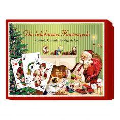 Schachtelspiel - Die beliebtesten Kartenspiele, Santa
