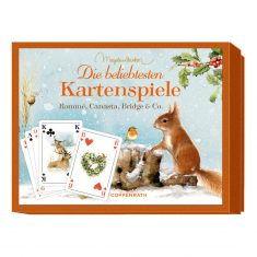 Schachtelspiel - Die beliebtesten Kartenspiele, Eichhörnchen