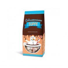 Schneemann Suppe - Trinkschokolade