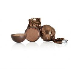 Schokoladenkugel, braun - Dunkle Schokolade mit Karamell und Meersalz