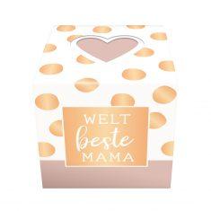 Schokolinsen-Würfel - Weltbeste Mama
