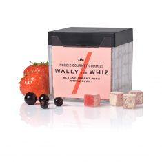 Wally and Whiz - Schwarze Johannisbeere mit Erdbeere, Weingummi, Box