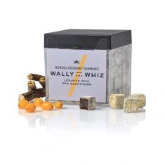 Wally and Whiz - Lakritz mit Sanddorn, Weingummi, Box