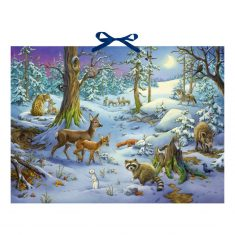 Sound-Adventskalender - Hört ihr die Tiere im Winterwald?