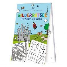 Spieleblöckchen - Bilderrätsel für Kinder