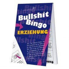 Spieleblöckchen - Bullshit-Bingo Erziehung