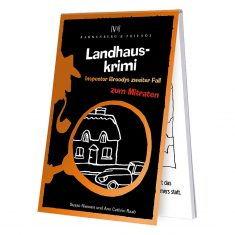 Spieleblöckchen - Landhauskrimi, Inspector Broodys 2. Fall