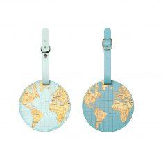 Gepäckanhänger - World Traveler Luggage Tag