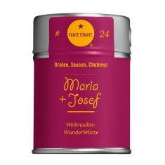 Gewürzmischung - Maria + Josef, Tante Tomate