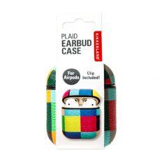 Schutzbehälter für Airpods - Plaid Earbud Case