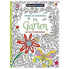 Usborne Minis - Malbuch mit Rubbelbildern: Im Garten