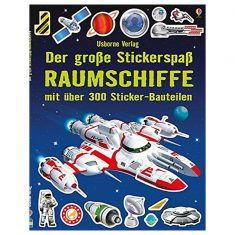 Der große Stickerspaß: Raumschiffe