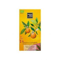 Vollmilchschokolade - Naranja & Cardamomo, bio