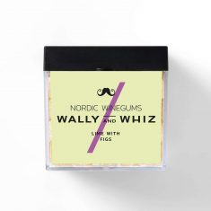 Wally and Whiz - Limette mit Feigen, Weingummi, BOX