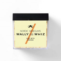Wally and Whiz - Limette mit Orange, Weingummi, Box