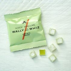 Wally and Whiz - Limette mit Orange, Weingummi